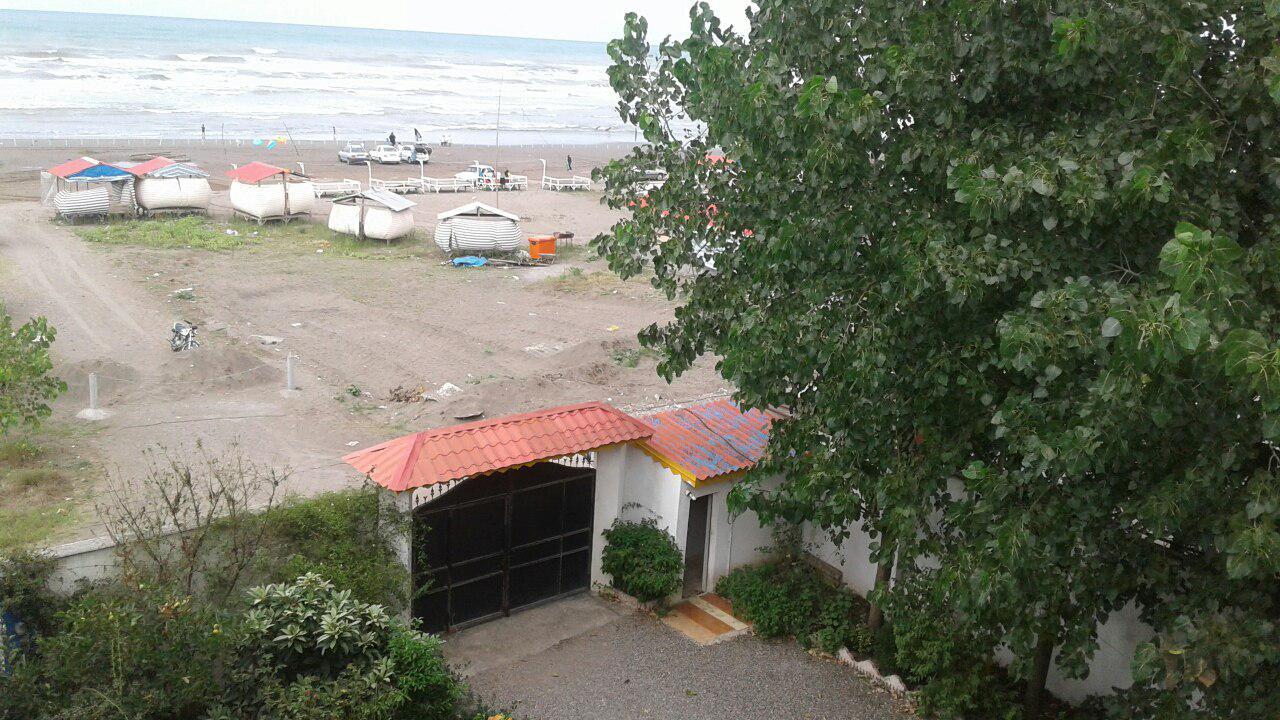 اجاره ویلا ساحلی با دید دریا زیباکنار فول امکانات